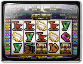 Play Aztec's Millions Slots now!