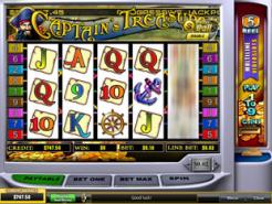 Play Captain's Treasure Slots now!