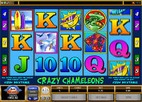 Play Crazy Chameleons Slots now!