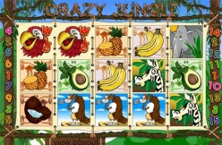 Play Crazy Jungle Slots now!