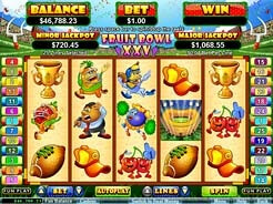 Play Fruit Bowl XXV Slots now!