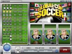 Play Global Cup Soccer Slots now!