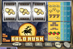 Play Gold Rush Slots now!