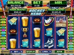 Play Hokey Hero Slots now!