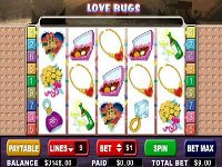 Play Love Bugs Slots now!
