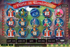 Play Party In Wonderland Slots now!