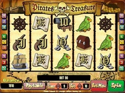 Play Pirate's Treasure Slots now!