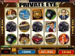 Play Private Eye Slots now!