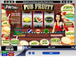 Play Pub Fruity Slots now!