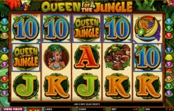Play Queen of the Jungle Slots now!