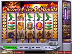 Play Queen of Pyramids Slots