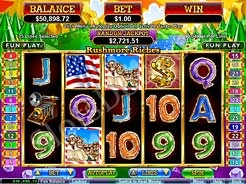 Download and Play Rushmore Riches Slots