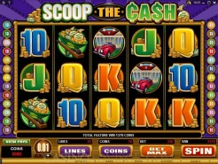 Play Scoop the Cash Slots now!