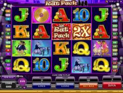 Play Rat Pack Slots now!
