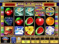 Multi-Player Wheel of Wealth Slots