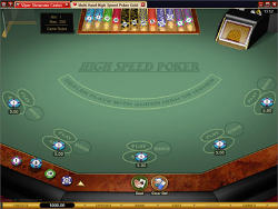 Play High Speed Poker now!