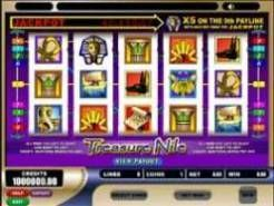 Play Treasure Nile Slots now!