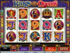 Kings and Queens Slots (Microgaming)